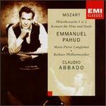Mozart: Flute Concertos Nos. 1, 2; Concerto for Flute & Harp