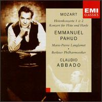 Mozart: Flute Concertos Nos. 1, 2; Concerto for Flute & Harp - Emmanuel Pahud (flute); Marie-Pierre Langlamet (harp); Berlin Philharmonic Orchestra; Claudio Abbado (conductor)