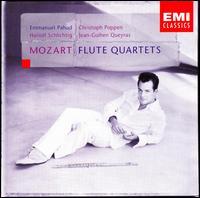 Mozart: Flute Quartets - Christoph Poppen (violin); Emmanuel Pahud (flute); Hariolf Schlichtig (viola); Jean-Guihen Queyras (cello)