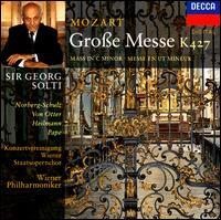 Mozart: Große Messe - Anne Sofie von Otter (soprano); Elizabeth Norberg-Schulz (soprano); René Pape (bass); Uwe Heilmann (tenor); Vienna State Opera Concert Chorus (choir, chorus); Wiener Philharmoniker; Georg Solti (conductor)