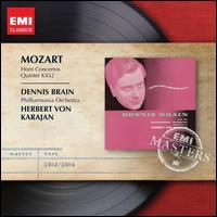 Mozart: Horn Concertos; Quintet, K 452 - Colin Horsley (piano); Dennis Brain (horn); Dennis Brain Wind Ensemble; Philharmonia Orchestra; Herbert von Karajan (conductor)