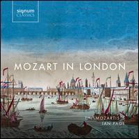 Mozart in London - Ana-Maria Labin (soprano); Anna Devin (soprano); Ben Johnson (tenor); Eleanor Dennis (soprano); Giovanni Manzuoli (vocals);...