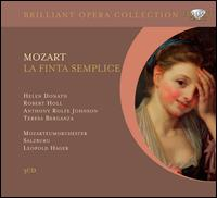 Mozart: La Finta Semplice - Anthony Rolfe Johnson (vocals); Helen Donath (vocals); Jutta-Renate Ihloff (vocals); Robert Holl (vocals);...