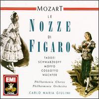 Mozart: Le Nozze di Figaro - Anna Moffo (soprano); Diana Gillingham (soprano); Dora Gatta (soprano); Eberhard Wächter (baritone);...