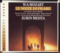 Mozart: Le Nozze di Figaro - Andrea Severi (harpsichord); Angelo Nosotti (bass); Gennaro Sica (tenor); Giorgio Tadeo (bass); Karita Mattila (soprano);...