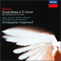 Mozart: Mass in C minor - Arleen Augér (soprano); David Thomas (bass); John Mark Ainsley (tenor); Lynne Dawson (soprano); Winchester Cathedral Choir (choir, chorus); Winchester College Quiristers (choir, chorus); Academy of Ancient Music