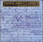 Mozart: Masterpieces for Solo Piano