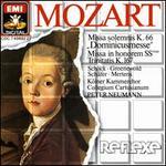"""Mozart: Missa solemnis """"Dominicusmesse""""; Missa in honorem Sanctissimae Trinitatis"""