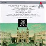Mozart: Missa Solemnis K 337; Litaniae de Venerabili Altaris Sacramento K 125; Regina Coeli K 276