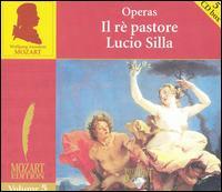 Mozart: Operas: Il ré pastore; Lucio Silla - Ad van Baasbank (vocals); Alexei Grigorev (tenor); Ann Murray (vocals); Anthony Rolfe Johnson (vocals);...