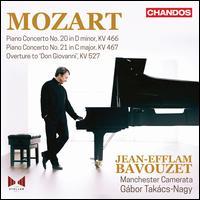 Mozart: Piano Concerto No. 20, KV 466; Piano Concerto No. 21, KV 467; Overture to Don Giovanni - Friedrich Gulda (candenza); Jean-Efflam Bavouzet (piano); Ludwig van Beethoven (candenza); Manchester Camerata;...