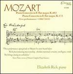 Mozart: Piano Concertos in E flat major, K482 & K271