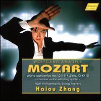 Mozart: Piano Concertos No. 12 K414 & No. 13 K415 - Chamber Version - Anna Lewis (viola); Eunseon Jang (double bass); Friederike Starkloff (violin); Haiou Zhang (piano);...