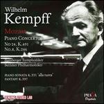 Mozart: Piano Concertos No. 24 K.491, No. 8 K.246