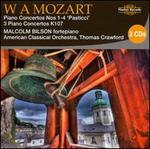 Mozart: Piano Concertos Nos. 1-4 'Pasticci'; 3 Piano Concertos K 107