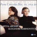 Mozart: Piano Concertos Nos. 10, 19 & 20