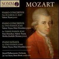 Mozart: Piano Concertos Nos. 20, K 466 & 21, K 467; Piano Concerto for Two Pianos, K 365; Piano Concerto for Three Pi - Mishka Rushdie Momen (piano); Peter Donohoe (piano); Valerie Tryon (piano); Royal Philharmonic Orchestra