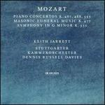 Mozart: Piano Concertos Nos. 23, 27, 21; Masonic Funeral Music; Symphony No. 40 in G minor