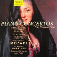 Mozart: Piano Concertos Nos. 24 & 25 - Ivan Moravec (piano); Academy of St. Martin-in-the-Fields; Neville Marriner (conductor)