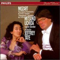 Mozart: Piano Concertos Nos. 26, KV537 'Coronation' & 27, KV595 - English Chamber Orchestra (chamber ensemble); Mitsuko Uchida (piano); Jeffrey Tate (conductor)