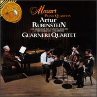 Mozart: Piano Quartets - Arthur Rubinstein (piano); David Soyer (cello); Guarneri Quartet; John Dalley (violin); Michael Tree (viola)