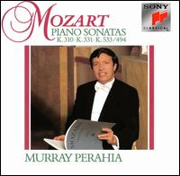 Mozart: Piano Sonatas K. 310, 331 & 533/494 - Murray Perahia (piano)