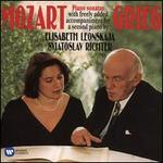 Mozart Piano Sonatas with freely added acommpaniment for a second piano by Grieg