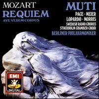 Mozart: Requiem; Ave Verum Corpus - Frank Lopardo (tenor); James Morris (bass); Patrizia Pace (soprano); Waltraud Meier (mezzo-soprano);...