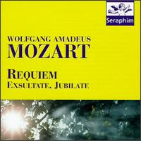 Mozart: Requiem K. 626; Exsultate, Jubilate, K. 165 - Berlin Philharmonic Orchestra; Consortium Musicum; Erika Köth (soprano); Franz Crass (bass);...