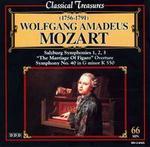 Mozart: Salzburg Symphonies; Mariiage of Figaro Overture; Symphony No. 40