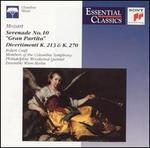"""Mozart: Serenade No. 10 """"Gran Partita""""; Divertimenti K. 213 & 270"""