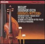 Mozart: Serenades, KV 239 & KV 203 / March KV 237