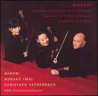 Mozart: Sinfonia Concertante in E-flat Major; Concerto for Violin, Piano & Orchestra in D Major - Christoph Eschenbach (piano); Midori (violin); Nobuko Imai (viola); NDR Symphony Orchestra; Christoph Eschenbach (conductor)