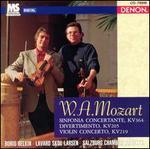 Mozart: Sinfonia Concertante KV364; Divertimento KV205; Violin Concerto KV219