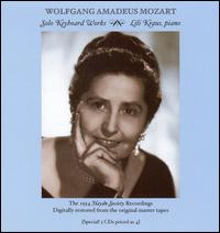 Mozart: Solo Piano Works - Lili Kraus (piano)