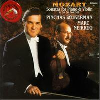 Mozart: Sonatas for Piano & Violin, Vol. 4 - Marc Neikrug (piano); Pinchas Zukerman (violin)