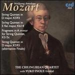 Mozart: String Quintet K594; String Quintet K614; Fragment in A minor, K515c; String Quintet, D593
