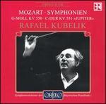"""Mozart: Symphonien G-moll KV 550 & C-Dur KV 551 """"Jupiter"""""""