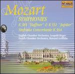 Mozart: Symphonies K385  'Hafner' & K 551 'Jupiter'; Sinfonia Concertante K 364