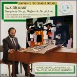 "Mozart: Symphonies No. 35 ""Haffner"", No. 36 ""Linz"" arranged by Hummel"