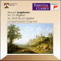 "Mozart: Symphonies No.35 ""Haffner"", No.40 & No.41 ""Jupiter"" - George Szell (conductor)"
