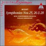 Mozart: Symphonies Nos. 25, 26 & 28