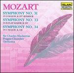 Mozart: Symphonies Nos. 31, 33, 34