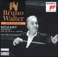 "Mozart: Symphonies Nos. 39, 40 & 41 ""Jupiter"" - New York Philharmonic; Bruno Walter (conductor)"