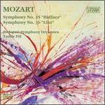 """Mozart: Symphonies Nos. No. 35 """"Haffner"""" & 36 """"Linz"""""""