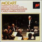 Mozart: Symphony No. 39, K.543; Sinfonia Concertante K.297b