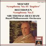 "Mozart: Symphony No. 41 ""Jupiter""; Beethoven: Symphony  No. 2"