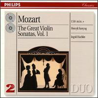 Mozart: The Great Violin Sonatas, Vol. 1 - Henryk Szeryng (violin); Ingrid Haebler (piano)