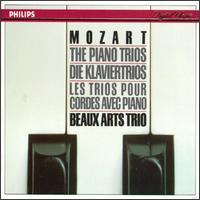 Mozart: The Piano Trios - Beaux Arts Trio; Bernard Greenhouse (cello); Isidore Cohen (violin); Menahem Pressler (piano)
