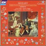 Mozart: Three Piano Quartets; K478, K493, K452
